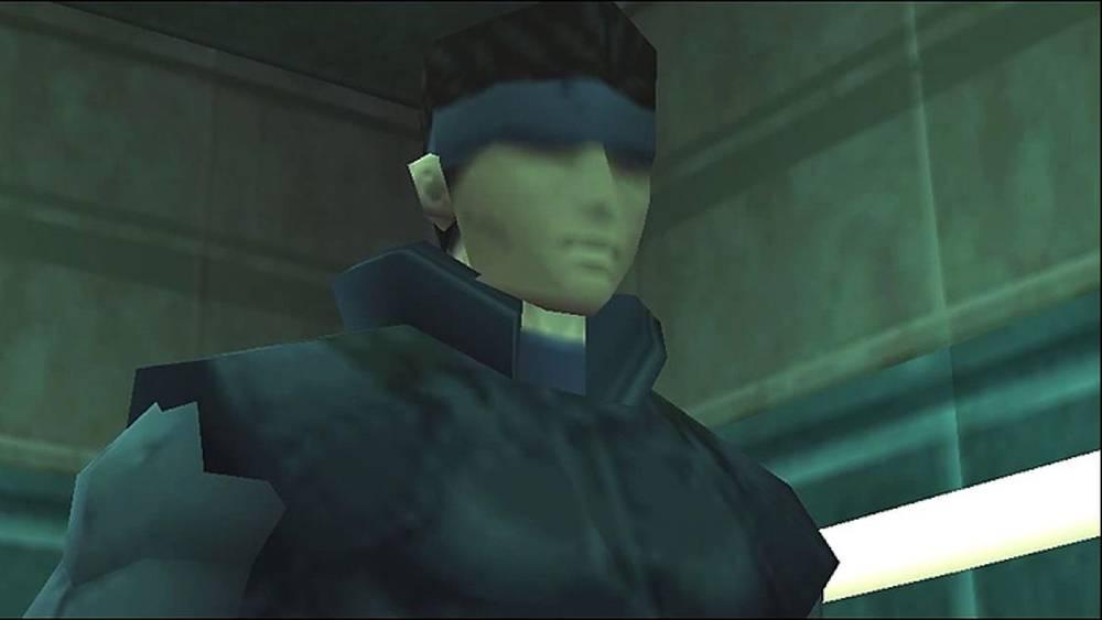 Screenshot de Metal Gear Solid com o protagonista Solid Snake que será interpretado por Oscar Isaac em adaptação para o cinema