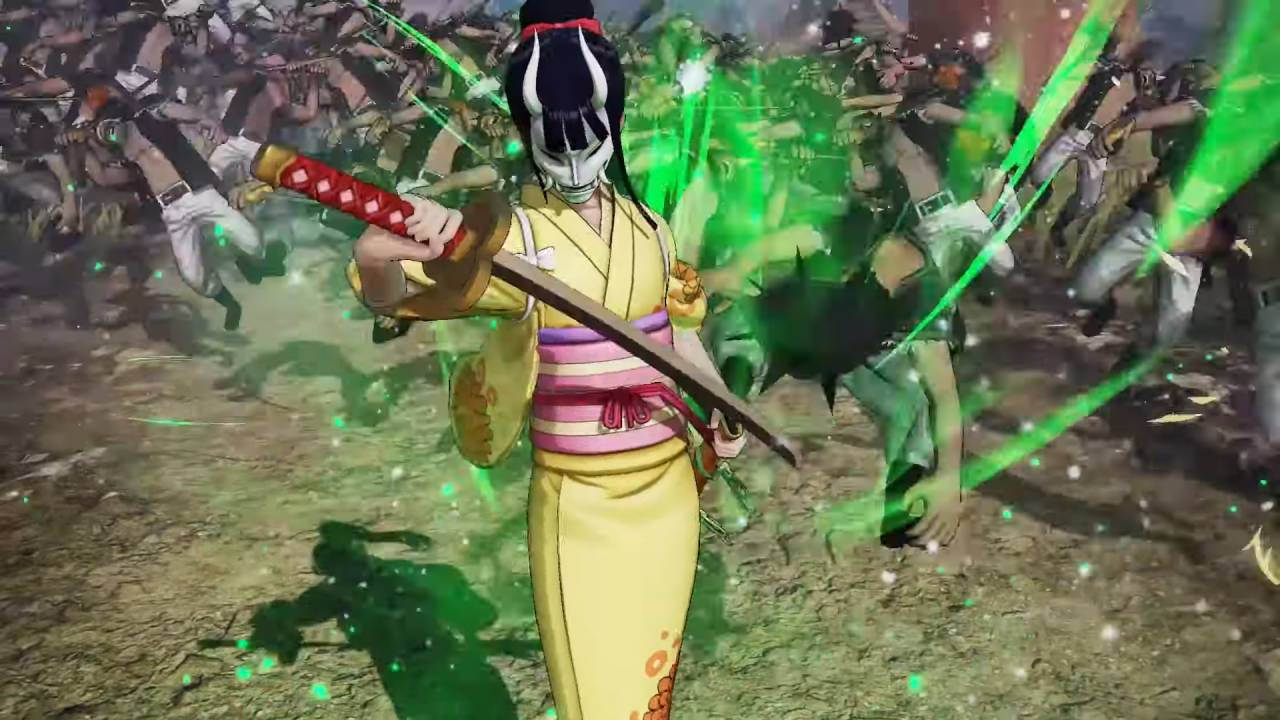 Pirate Warriors 4 Okiku ataque