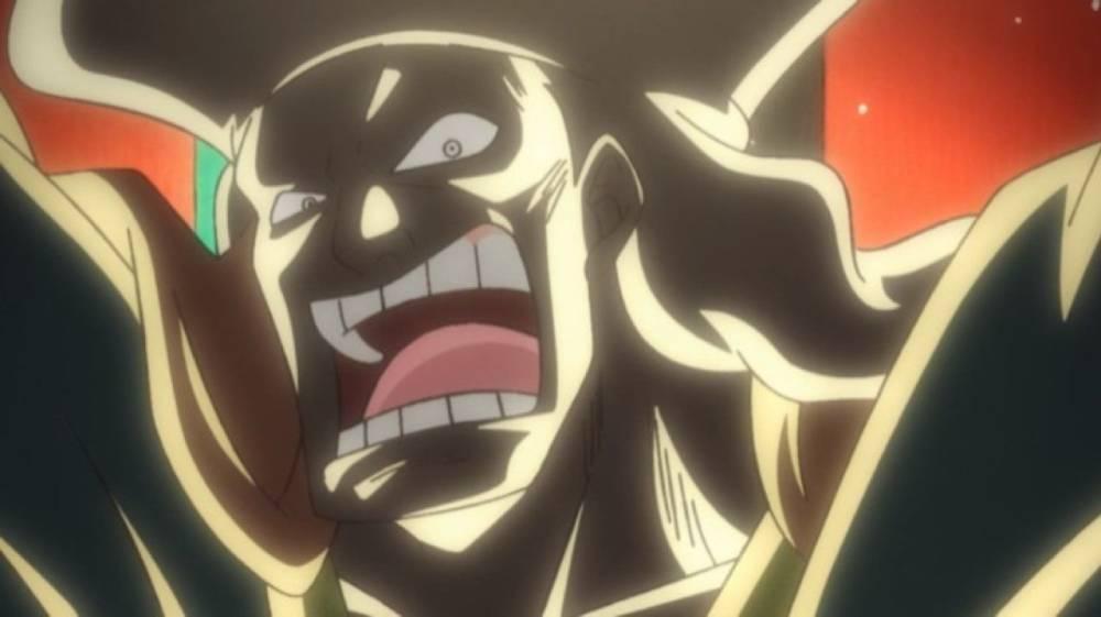 Captura de tela do anime de One Piece
