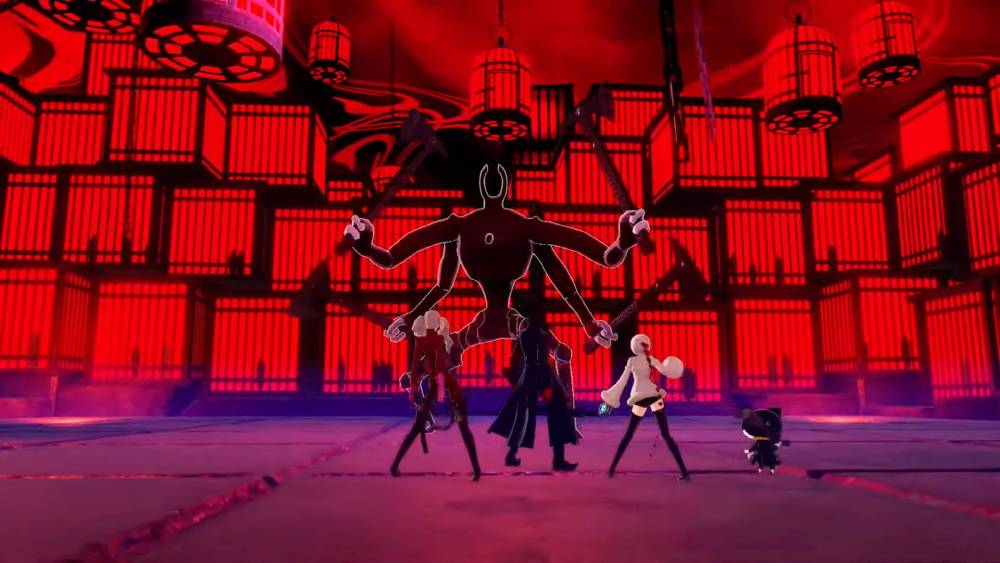 Screenshot de Persona 5 Strikers