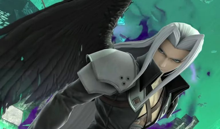 Super Smash Bros Ultimate terá o vilão Sephiroth em breve
