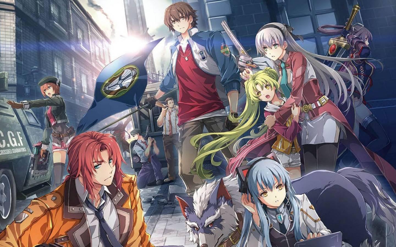Arte de The Legend of Heroes: Hajimari no Kiseki, o prólogo de Kuro no Kiseki