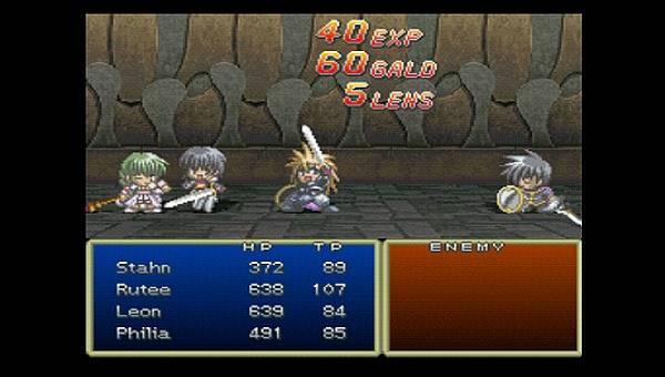 Screenshot de Tales of Destiny