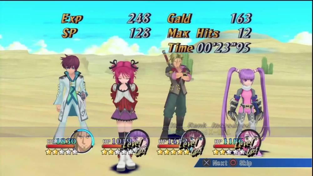 Screenshot de Tales of Graces F