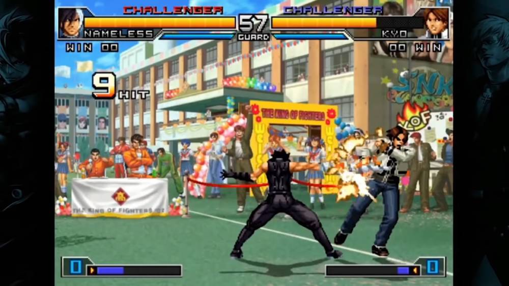 Screenshot de The King of Fighters 2002 Unlimited Match