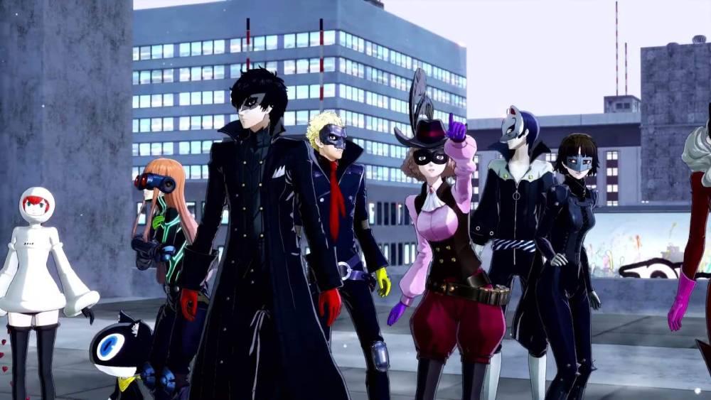 Screenshot de Persona 5 Strikers
