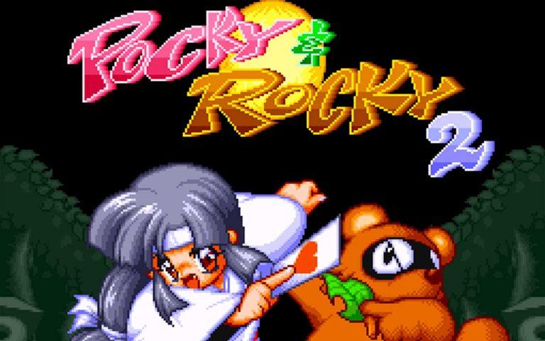 Imagem do DensetsuIndica de Pocky & Rocky 2