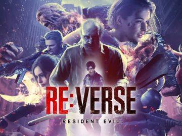 Arte promocional de Resident Evil Re:Verse