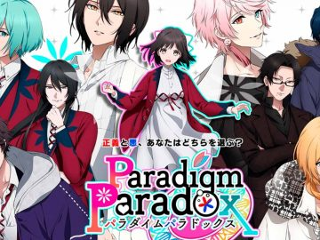 Personagens da visual novel otome Paradigm Paradox