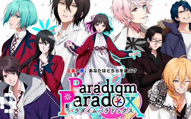 Personagens da visual novel otome Paradigm Paradox