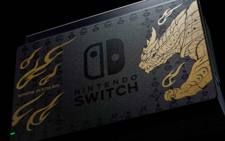 Nintendo Switch edição limitada de Monster Hunter Rise