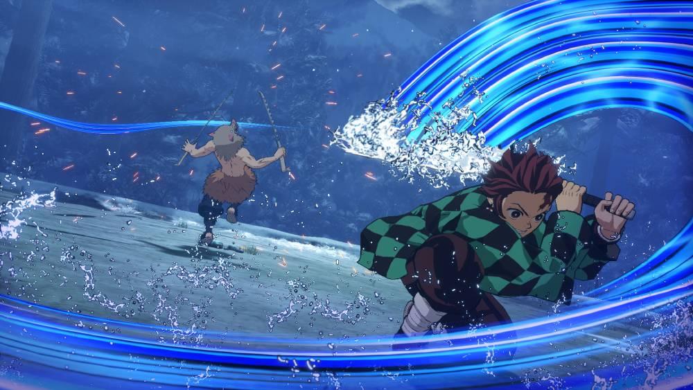 Screenshot de Demon Slayer: Kimetsu no Yaiba - Hinokami Keppuutan