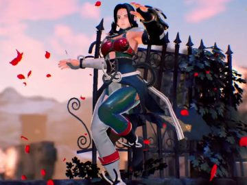 Screenshot de Fighting EX Layer: Another Dash