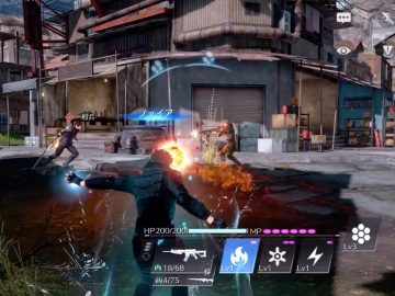 Screenshot de Final Fantasy VII: The First Soldier