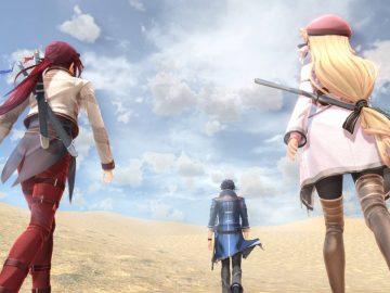 Screenshot de The Legend of Heroes: Kuro no Kiseki, da Nihon Falcom