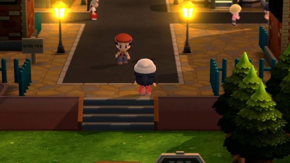 Screenshot de Pokémon Brilliant Diamond & Shining Pearl