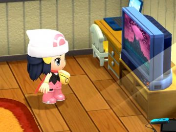 Screenshot de Pokémon Brilliant Diamond e Shining Pearl