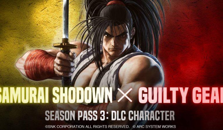 Samurai Shodown terá lutador adicional da franquia Guilty Gear