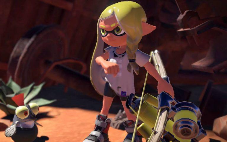 Screenshot de Splatoon 3