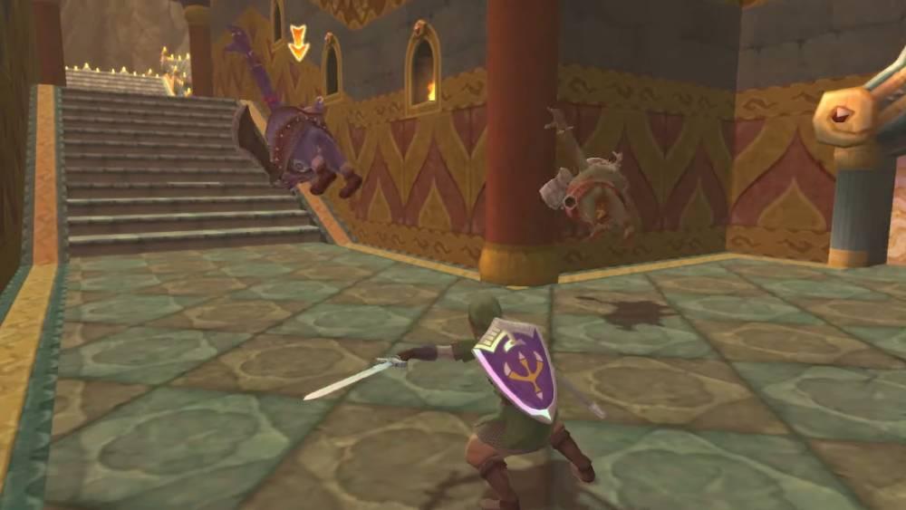 Screenshot de The Legend of Zelda: Skyward Sword HD
