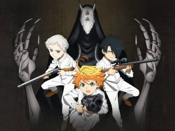Arte de The Promised Neverland: Kariniwa Kara no Dassou