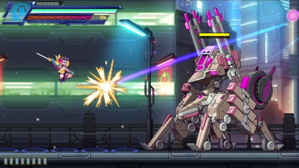 Screenshot de Azure Striker Gunvolt 3