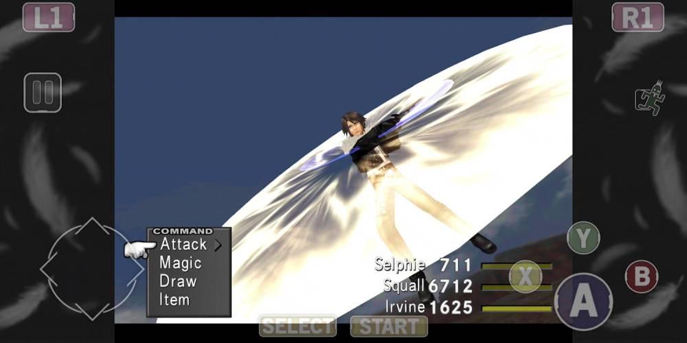 Screenshot de Final Fantasy VIII Remastered