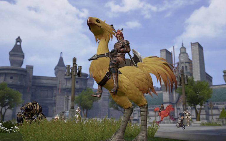 Screenshot de Final Fantasy XI Reboot