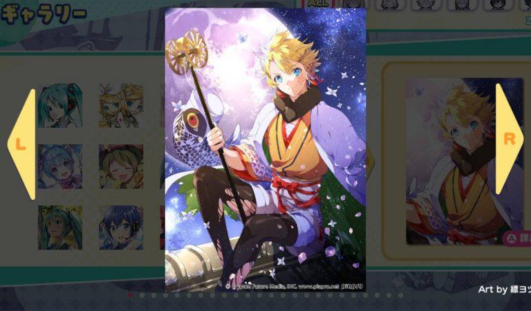 Hatsune Miku Logic Paint S é lançado para Nintendo Switch