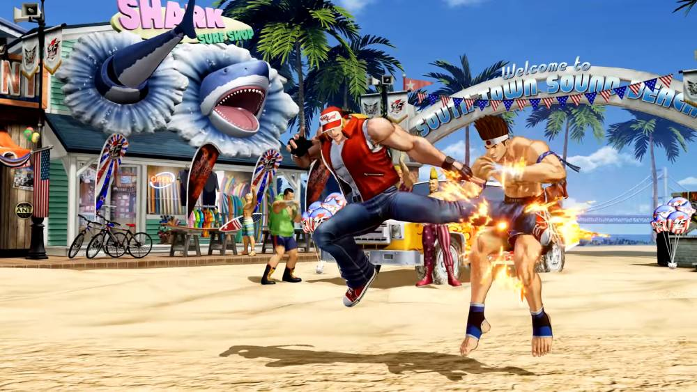 Screenshot de The King of Fighters XV
