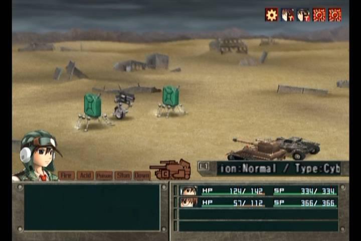 Screenshot de Metal Saga