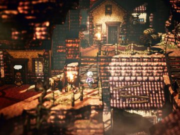 Screenshot de Octopath Traveler