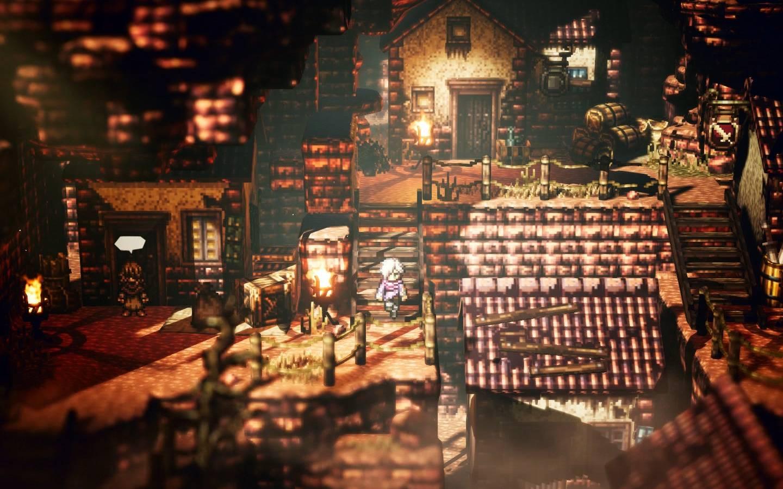 Screenshot de Octopath Traveler