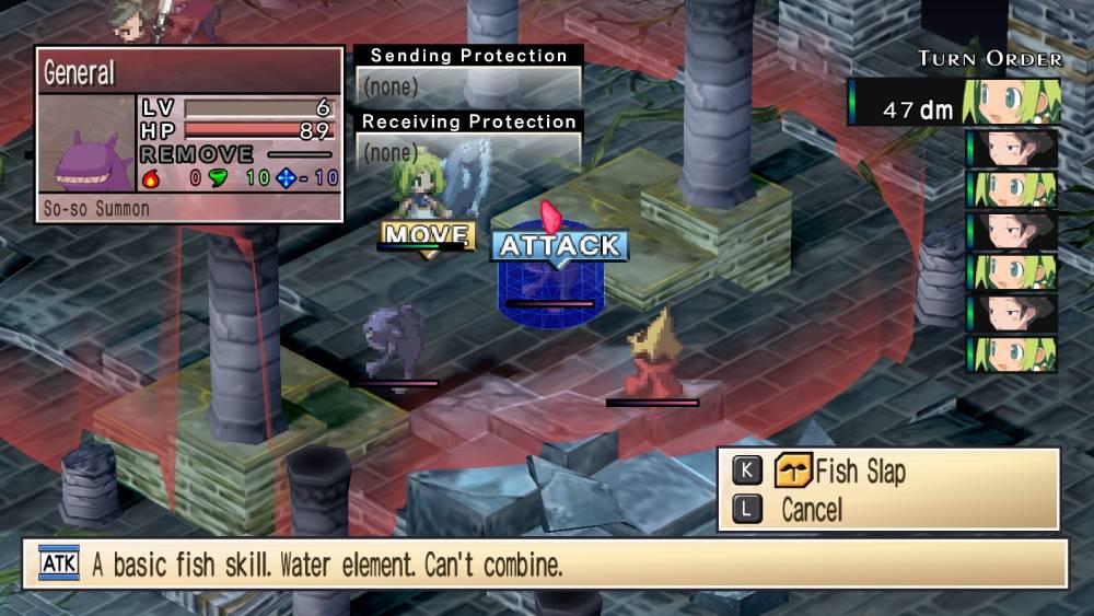 Screenshot de Phantom Brave PC, um dos títulos que serão inclusos na coletânea Prinny Presents: NIS Classics Volume 1