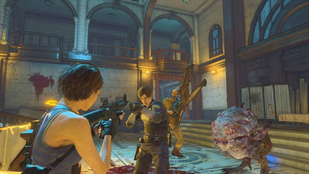 Screenshot de Resident Evil Re:Verse