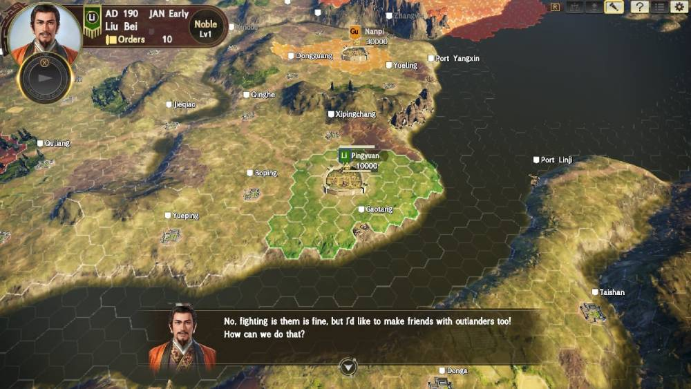 Screenshot de Romance of the Three Kingdoms: Diplomacy and Strategy Expasion Pack Bundle
