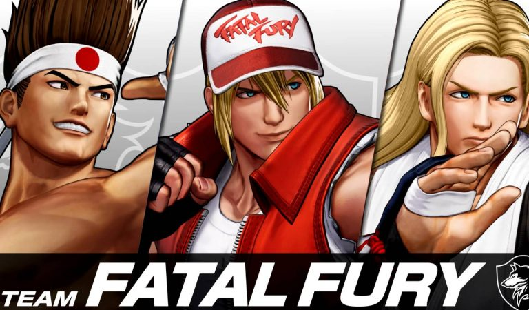 "The King of Fighters XV — Conheça o time ""Fatal Fury"""