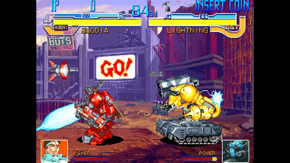 Screenshot de Cyberbots: Fullmetal Madness
