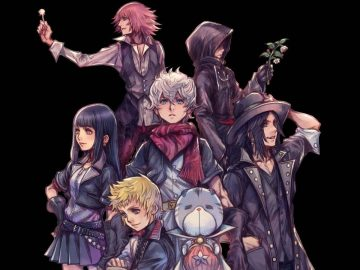 Arte de Kingdom Hearts Union X