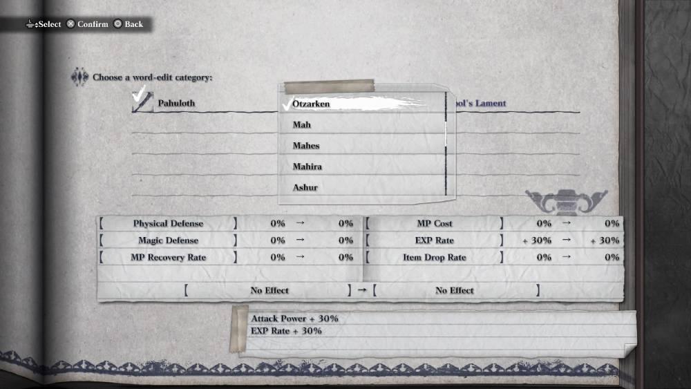 Screenshot de NieR Replicant ver.1.2474487139…