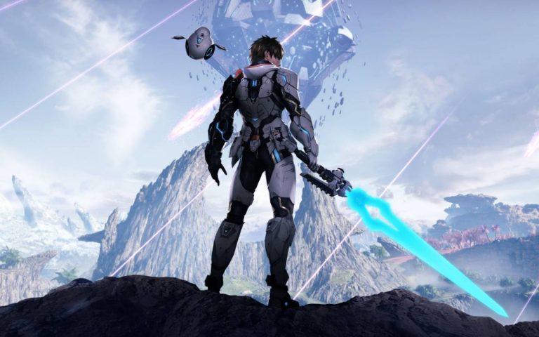 Arte de Phantasy Star Online 2: New Genesis