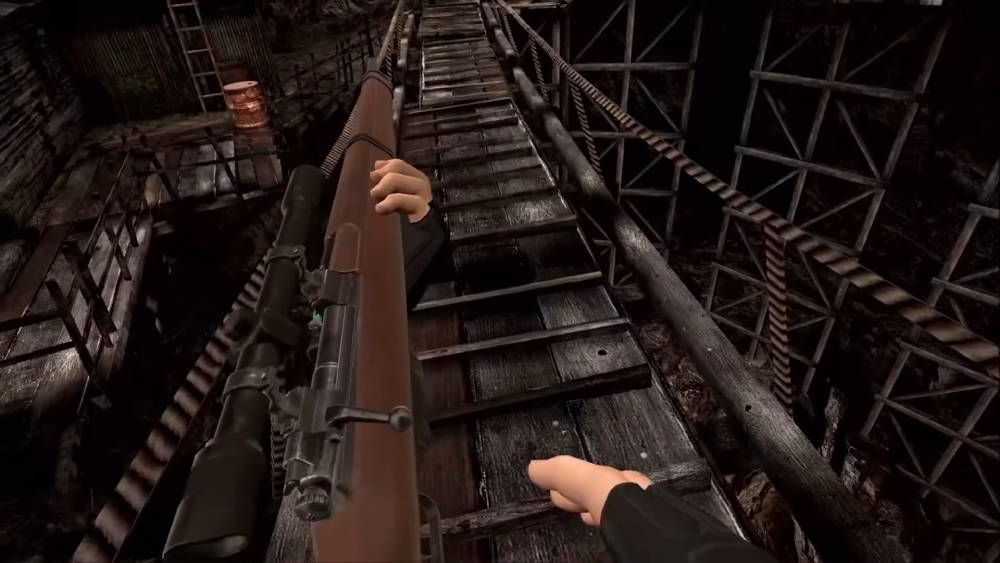 Screenshot de Resident Evil 4 VR