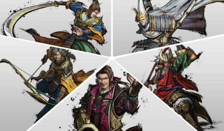 Samurai Warriors 5 revela a presença de mais 5 figuras históricas