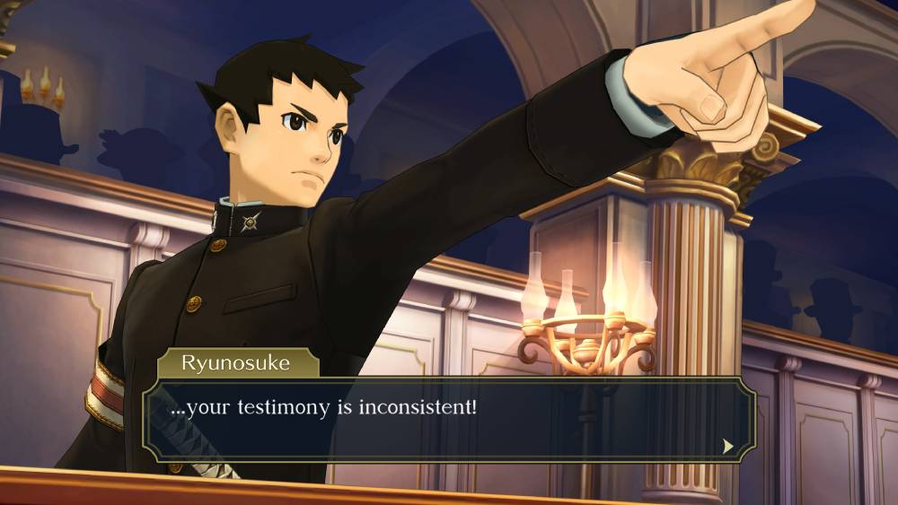 Screenshot de The Great Ace Attorney Chronicles