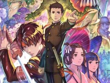 Arte de The Great Ace Attorney Chronicles