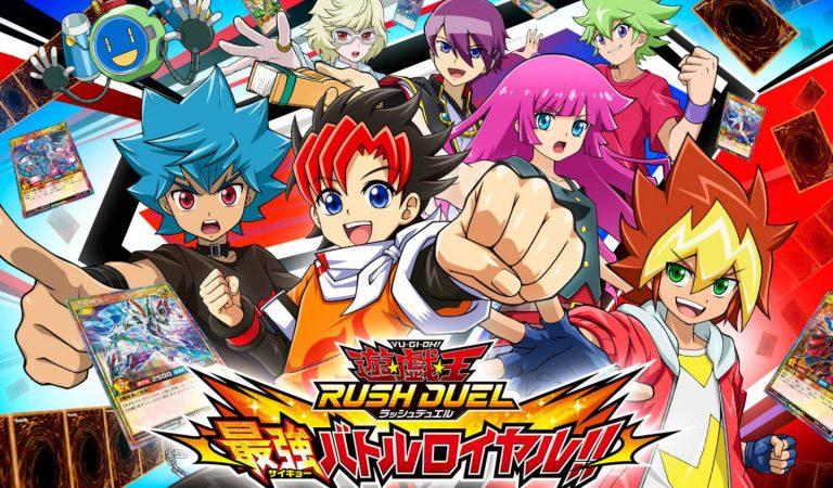 Yu-Gi-Oh! Rush Duel: Saikyou Battle Royale recebe detalhes e imagens