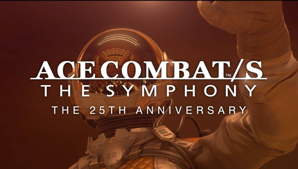 Arte promocional do concerto Ace Combat/S: The Symphony - The 25th Anniversary