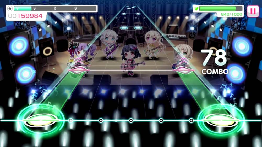 Screenshot de BanG Dream! Girls Band Party