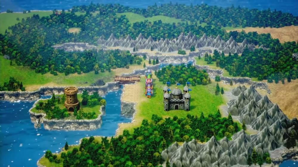 Screenshot de Dragon Quest III HD-2D Remake