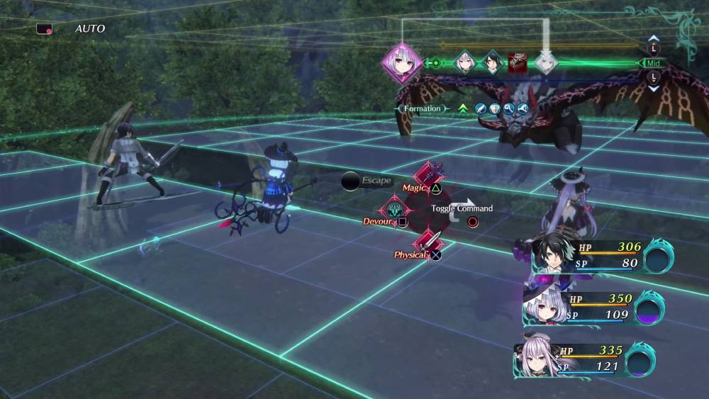Screenshot de Dragon Star Varnir